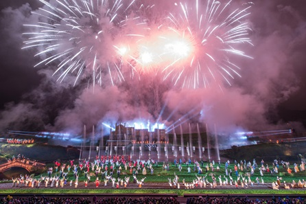 Entry to Kynren - An Epic Tale of England for Two Adults and Two Children