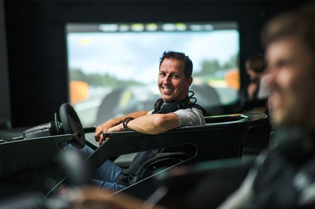 F1 Grand Prix Simulator Race Experience