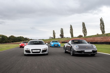Four Supercar Thrill plus High Speed Passenger Ride and Photo - Weekday