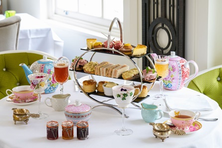 Gin and Jam Afternoon Tea with Cocktail Masterclass for Two at Hush, Mayfair