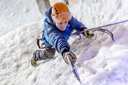 Ice Climbing for One