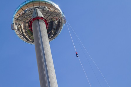 iDrop Abseil Experience at the British Airways i360
