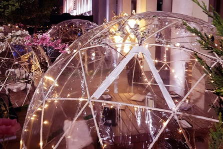 Igloo Dining Experience with Sharing Menu and Fizz for Two at inamo, Camden