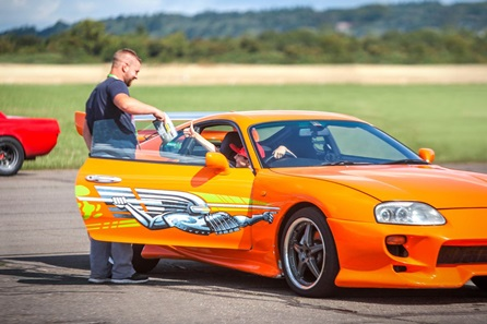 Junior Fast and Furious Driving Blast with High Speed Passenger Ride