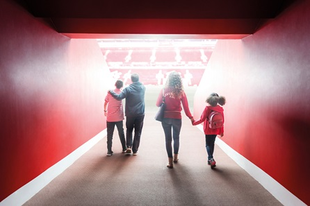 Liverpool FC Stadium Tour & Museum Entry for One Adult and One Child