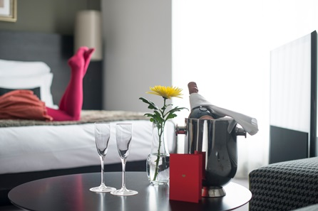 Luxury 5* London Break with Champagne for Two at South Place Hotel