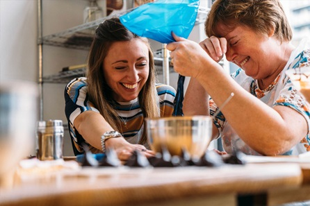 Luxury Chocolate Making Workshop Including Martini and Bubbly for Two
