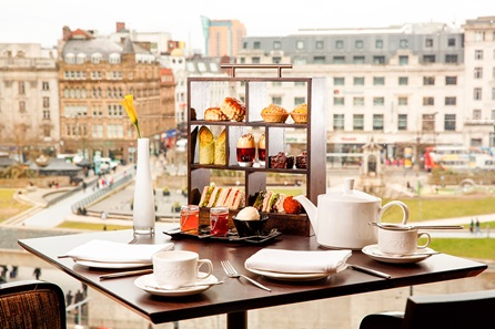 Manchester Themed Afternoon Tea for Two