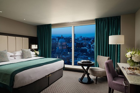 One Night Belfast City Break for Two at the Luxury 4* Grand Central Hotel