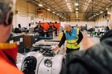 One Night Break with Dinner at The Malvern with Morgan Motor Company Factory Tour for Two