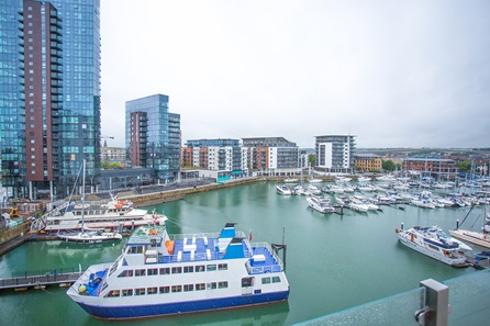 One Night Coastal Escape with Dinner for Two at Southampton Harbour Hotel