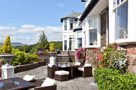 One Night Lake District Escape with Dinner for Two at Hillthwaite House Hotel