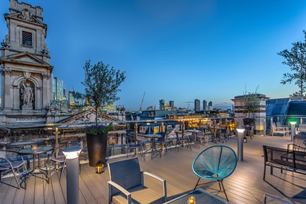 One Night London Break and CineBrunch with Free-Flowing Prosecco for Two at the 5* Courthouse Hotel, Shoreditch