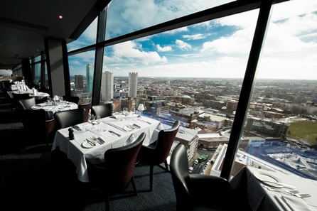 Panoramic Views Two Course Meal for Two with a Bottle of Wine at Marco Pierre White Steakhouse Bar & Grill, Birmingham