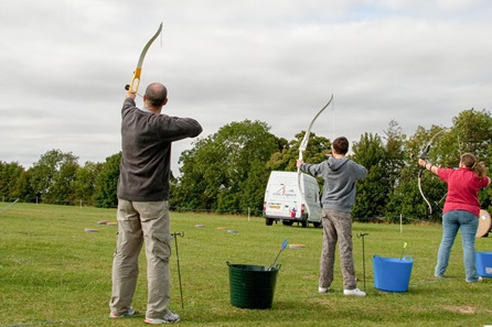 Archery Clay Pigeon Shooting