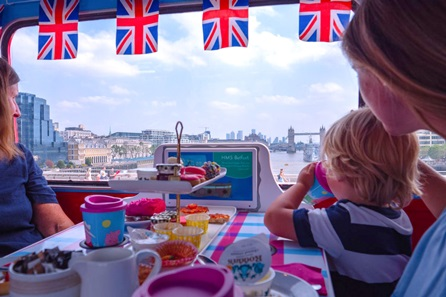 Peppa Pig Afternoon Tea Bus Tour for One Adult and One Child