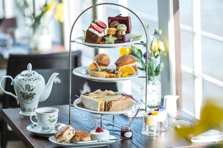 Riverside Champagne Afternoon Tea for Two on The Yacht, London