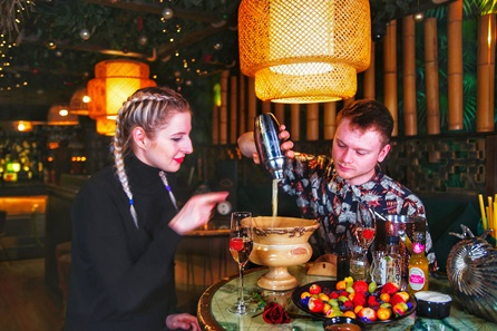 Romantic Self-Guided Cocktail Making with Bottle of Prosecco for Two at Laki Kane