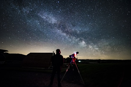 Stargazing Experience for Two with Dark Sky Wales