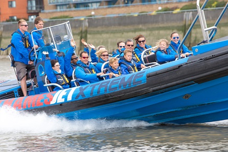 Thames Jet Boat Rush for Two