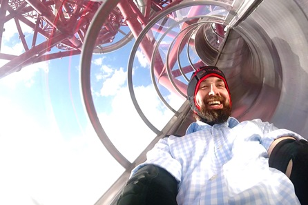 The Slide at The ArcelorMittal Orbit and Three Course Meal with Prosecco at Jamie's Italian for Two