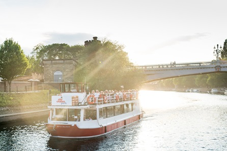 Three Course Meal with Prosecco for Two at Jamie's Italian and City of York Sightseeing River Cruise for Two