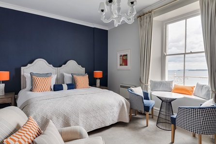 Two Night Coastal Escape with Dinner for Two at St Ives Harbour Hotel & Spa