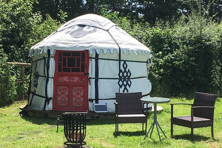 Two Night Devon Yurt Break for Two