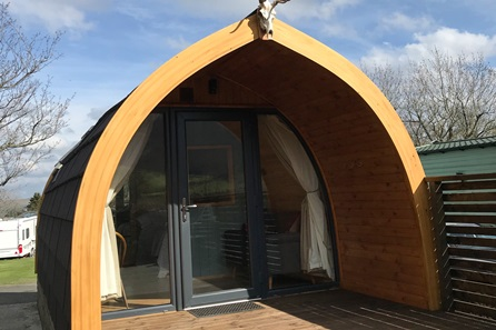 Two Night Glamping Cabin Break at the Quiet Site, Lake District