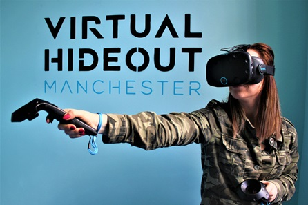 Virtual Reality Experience for Four at Basement Break Manchester