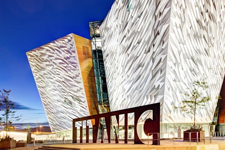 Family Visit to The Titanic Experience