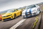 Double American Muscle Car Blast plus High Speed Passenger Ride