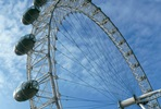 A Vintage Red London Bus Tour and London Eye Flight for Two