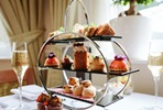 Champagne Afternoon Tea for Two at the Oakley Hall Country House Hotel