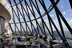 Four Course Sunday Brunch with Champagne for Two at London's Iconic Gherkin