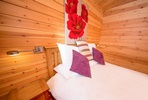 Four Night Somerset Log Cabin Escape for Two at Wall Eden Farm