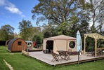Three Night Glamping Break for Two at Back-Of-Beyond, Dorset