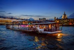 One Night London Escape with Bateaux London Five Course Thames Dinner Cruise for Two