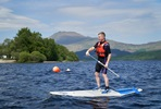 Stand Up Paddleboarding for Two on Loch Lomond