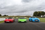 Triple Supercar Blast plus High Speed Passenger Ride and Photo - Weekday