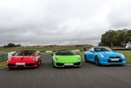 Triple Supercar Thrill plus High Speed Passenger Ride and Photo - Weekday