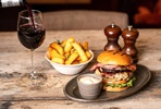 Visit to Shakespeare's Schoolroom & The Guildhall with Three Course Meal and Wine at Wildwood for Two